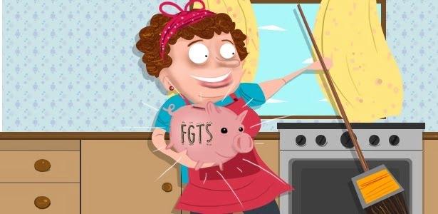 FGTS dos domésticos começa a valer a partir de outubro